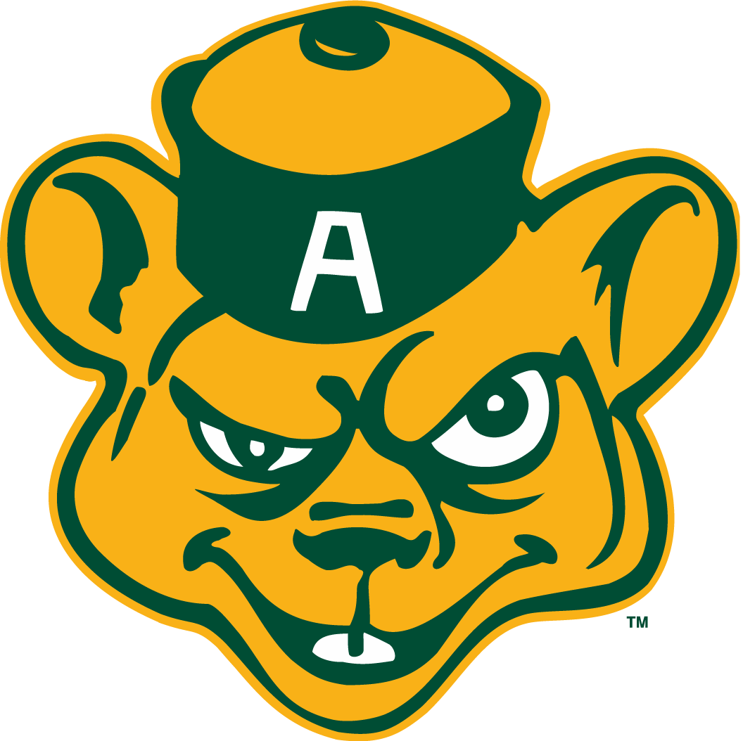 Alberta Golden Bears Primary Logo - Canada West ...