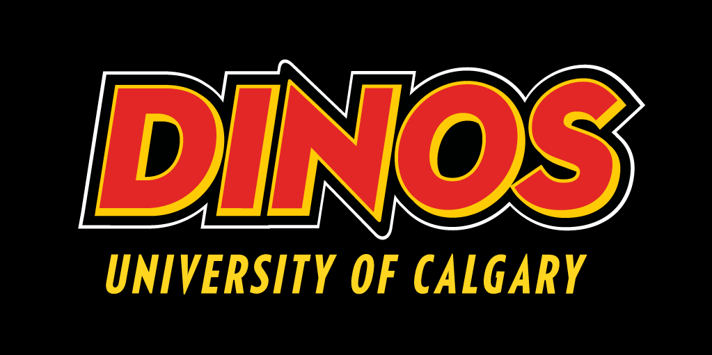 Calgary Dinos Logo Wordmark Logo (2013-Pres) -  SportsLogos.Net
