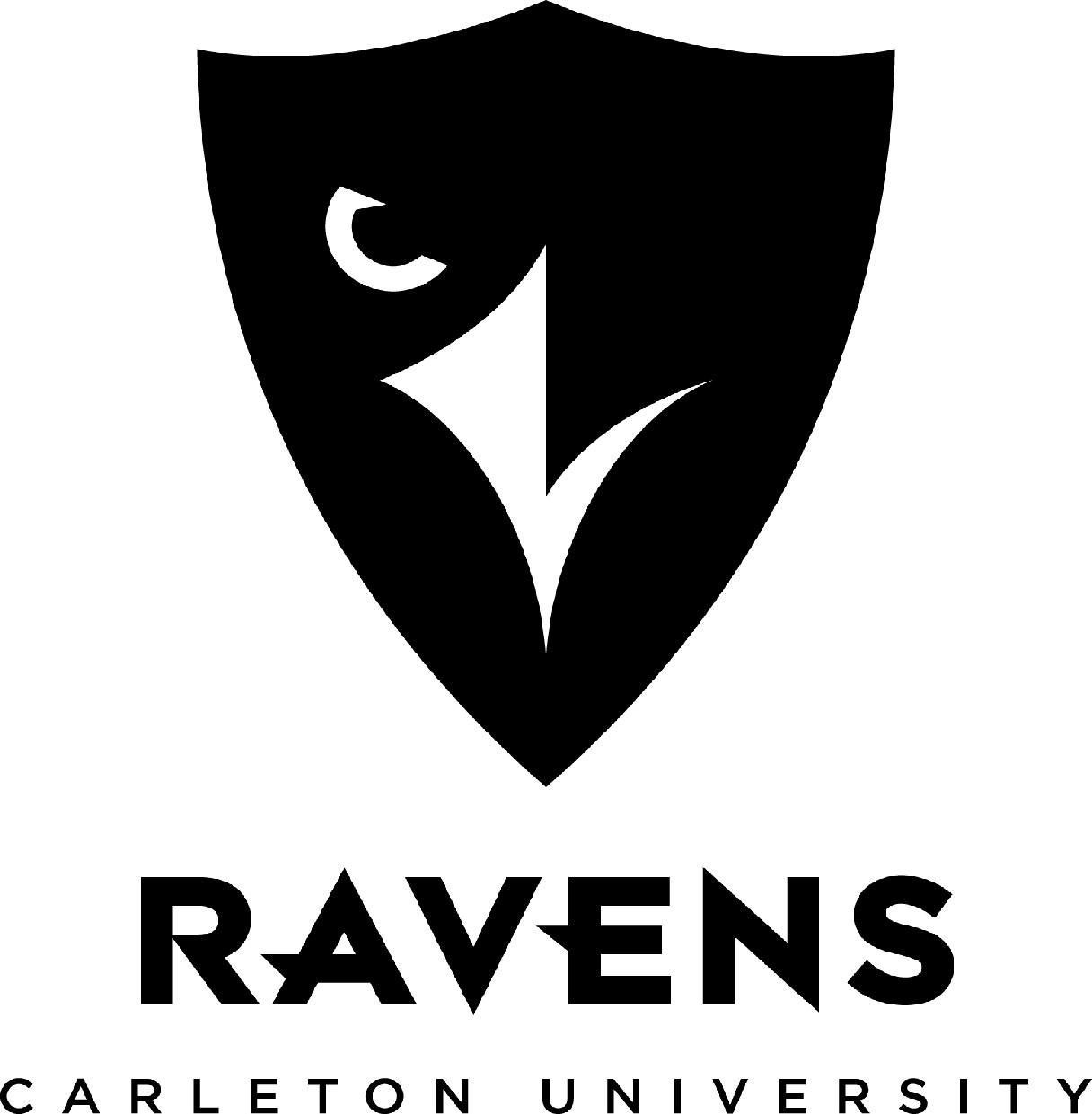 Carleton Ravens Logo Primary Logo (2013-Pres) -  SportsLogos.Net