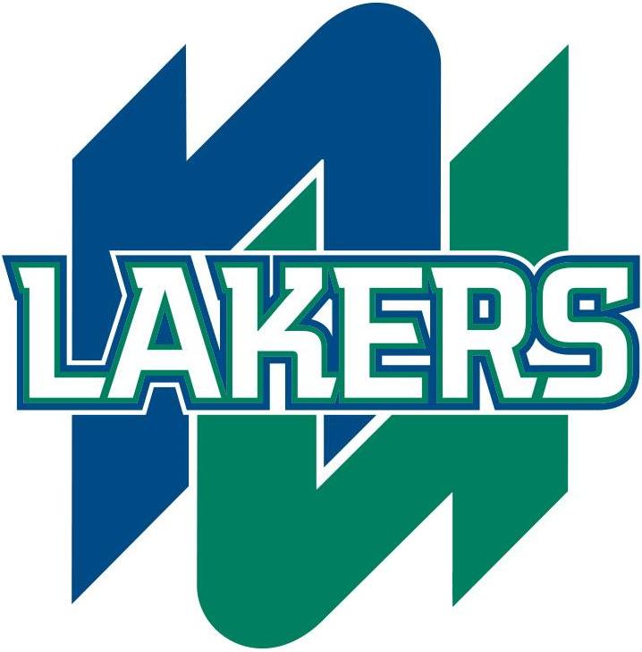 Nipissing Lakers Logo Primary Logo (2013-Pres) -  SportsLogos.Net