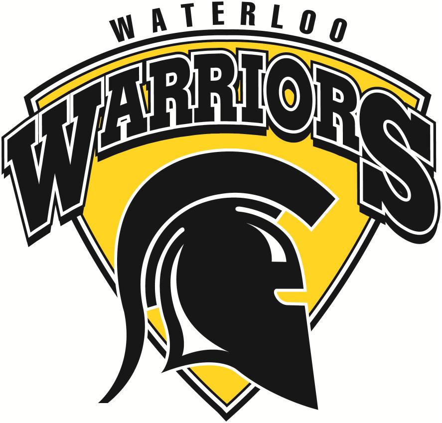 Waterloo Warriors Logo Primary Logo (2012-Pres) -  SportsLogos.Net