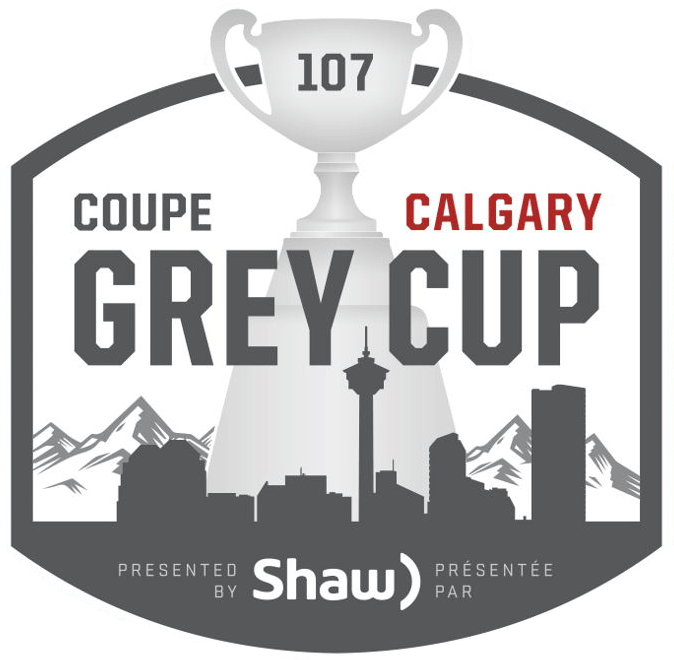 Grey Cup Logo Primary Logo (2019) - 2019 Grey Cup - Grey Cup 107 Coupe Grey 2019 to be played in Calgary, Alberta in November 2019 SportsLogos.Net