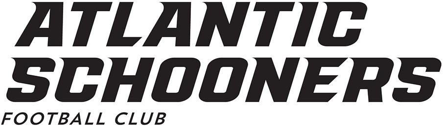 Atlantic Schooners Logo Primary Logo (2019-Pres) - Atlantic Schooners Football Club in black italics SportsLogos.Net