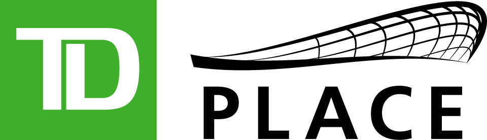 Ottawa RedBlacks Logo Stadium Logo (2014-Pres) - TD Place Stadium logo SportsLogos.Net