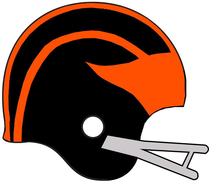 BC Lions Helmet Helmet (1960-1961) -  SportsLogos.Net