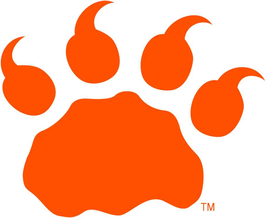 BC Lions Logo Alternate Logo (2005-2010) - Orange lion's paw SportsLogos.Net