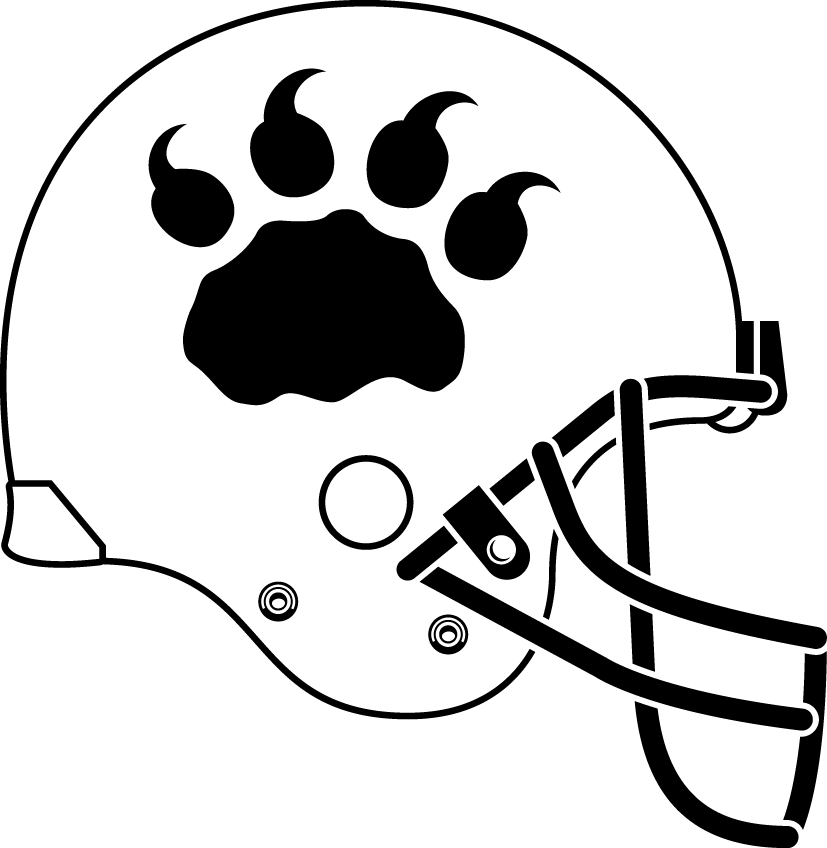 BC Lions Helmet Helmet (2005-2012) - Alternate helmet SportsLogos.Net