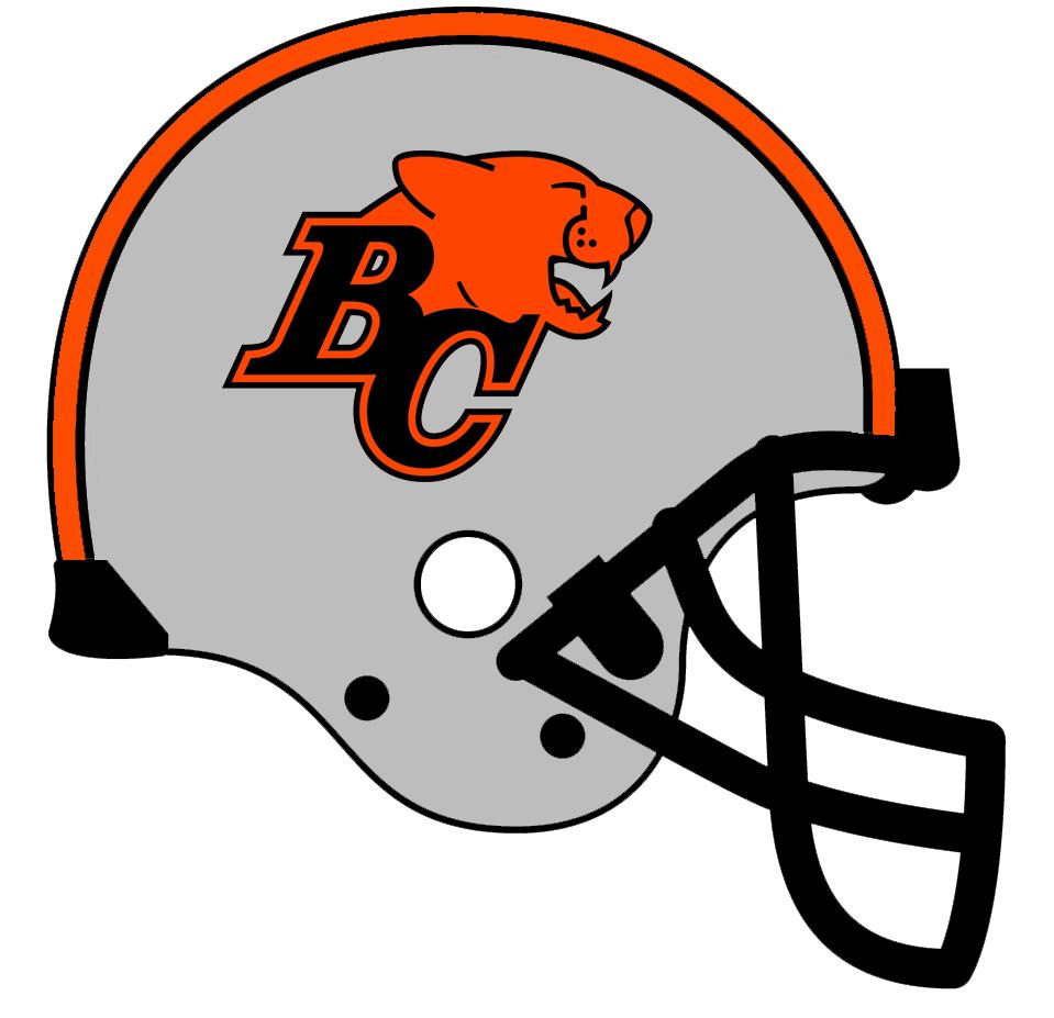 BC Lions Helmet Helmet (1990-1995) -  SportsLogos.Net
