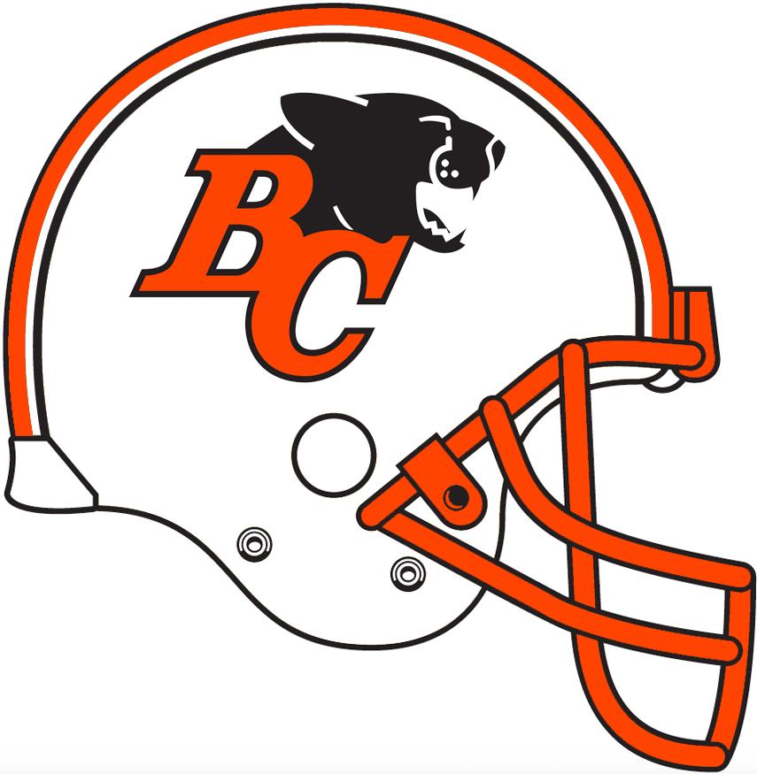 BC Lions Helmet Helmet (1978-1989) -  SportsLogos.Net