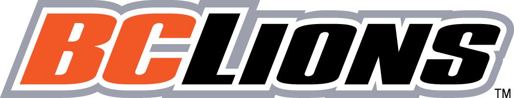 BC Lions Logo Wordmark Logo (2005-2015) -  SportsLogos.Net