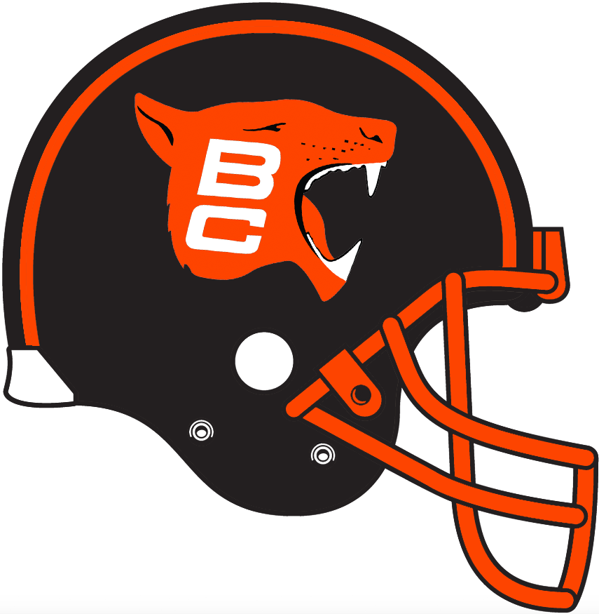 BC Lions Helmet - Canadian Football League (CFL) - Chris Creamer s ... 622604b16