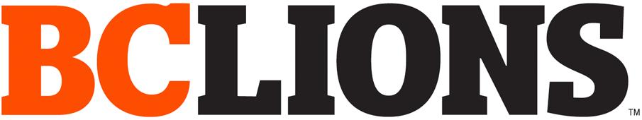 BC Lions Logo Wordmark Logo (2016-Pres) -  SportsLogos.Net