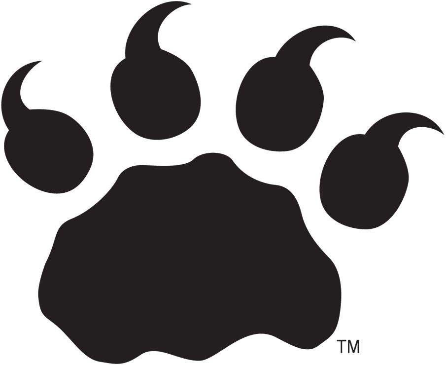 BC Lions Logo Alternate Logo (2005-Pres) - Black lion paw print SportsLogos.Net