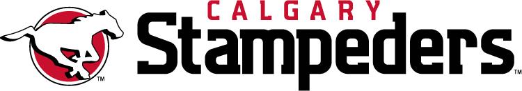Calgary Stampeders Logo Wordmark Logo (2012-Pres) -  SportsLogos.Net