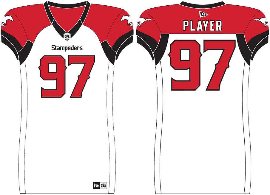 Calgary Stampeders Uniform Road Uniform (2019-Pres) -  SportsLogos.Net
