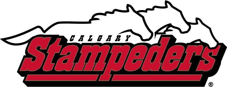 Calgary Stampeders Logo Wordmark Logo (2000-2011) -  SportsLogos.Net