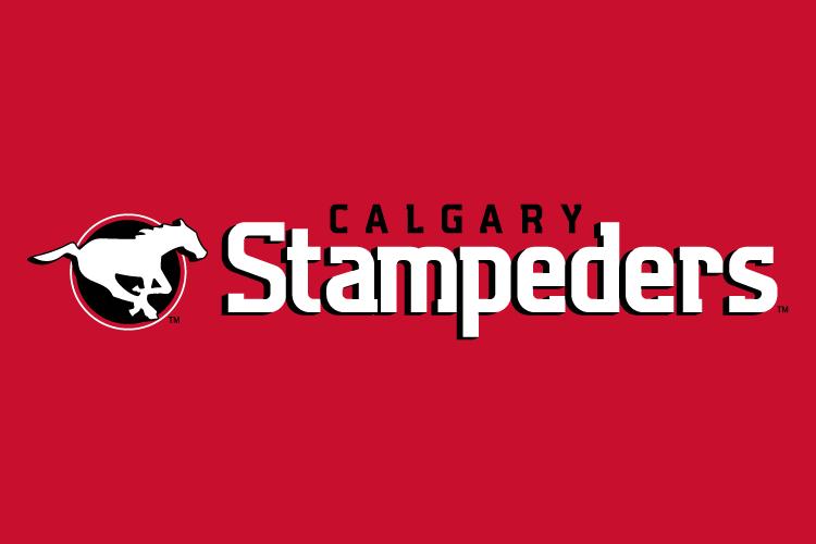 Calgary Stampeders Wordmark Logo Canadian Football