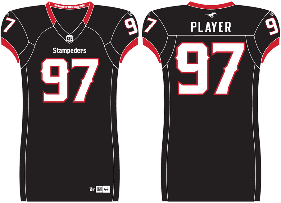 Calgary Stampeders Uniform Alternate Uniform (2019-Pres) -  SportsLogos.Net