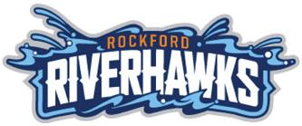 Rockford Riverhawks Logo Wordmark Logo (2012) -  SportsLogos.Net