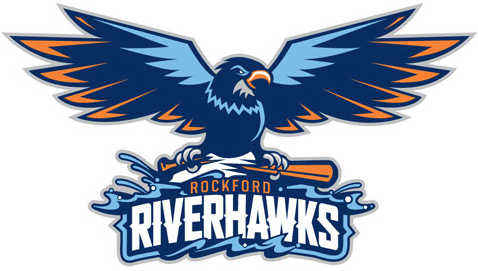 Rockford Riverhawks Logo Primary Logo (2012) -  SportsLogos.Net