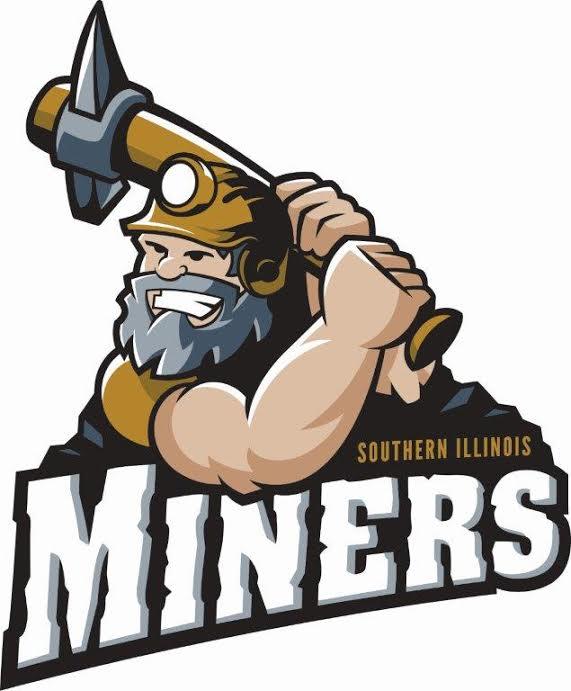 Southern Illinois Miners Logo Primary Logo (2016-Pres) -  SportsLogos.Net