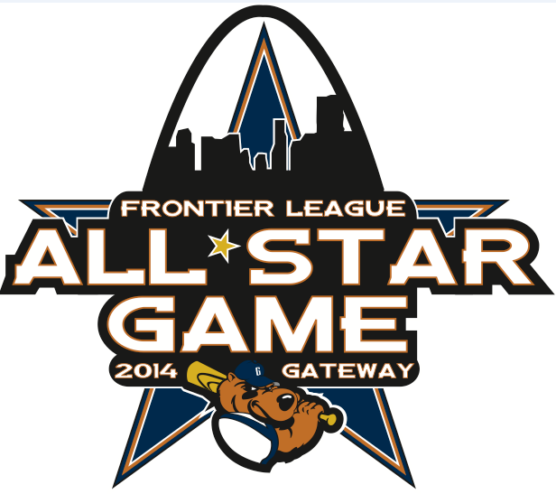 All Star Game Logo Primary Logo (2014) - 2014 Frontier League All-Star Game - Gateway - Sauget, IL SportsLogos.Net