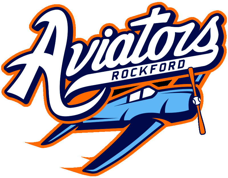 Rockford Aviators Logo Primary Logo (2013-2015) -  SportsLogos.Net