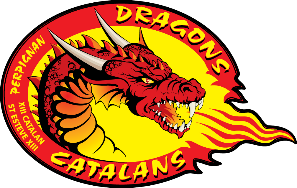 Catalans Dragons Logo Primary Logo (2008-Pres) -  SportsLogos.Net