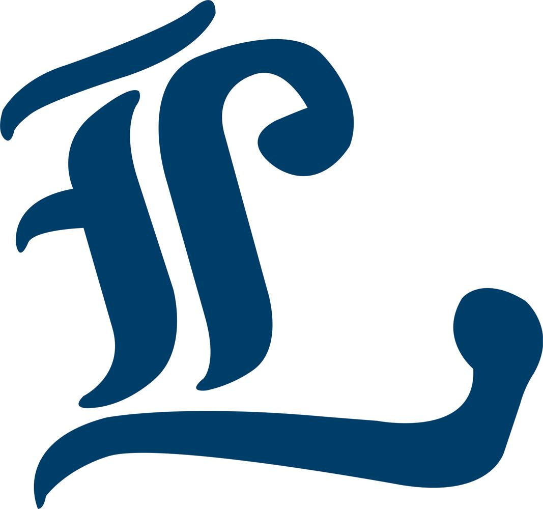 London Majors Logo Cap Logo (2000-Pres) -  SportsLogos.Net