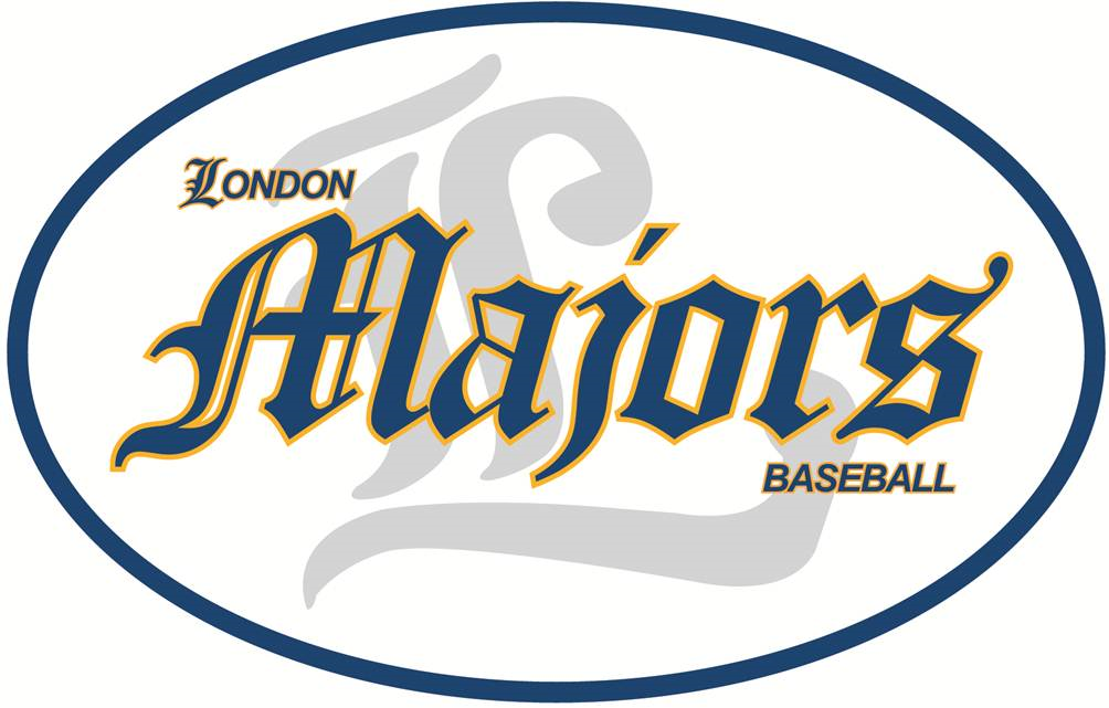London Majors Logo Primary Logo (2000-Pres) -  SportsLogos.Net
