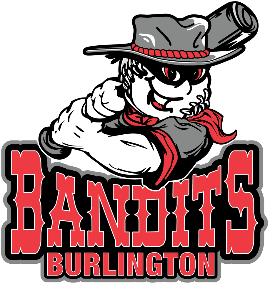 Burlington Bandits Logo Primary Logo (2012-2013) -  SportsLogos.Net