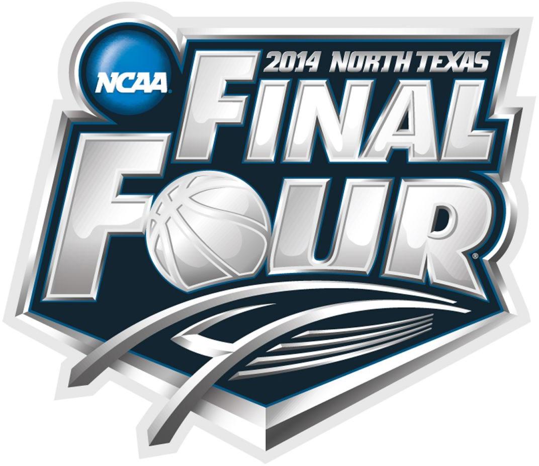 NCAA Mens Final Four Logo Primary Logo (2014) - 2014 NCAA Men's Final Four - held in Arlington, Texas. - Florida, Connecticut, Wisconsin, Kentucky  SportsLogos.Net