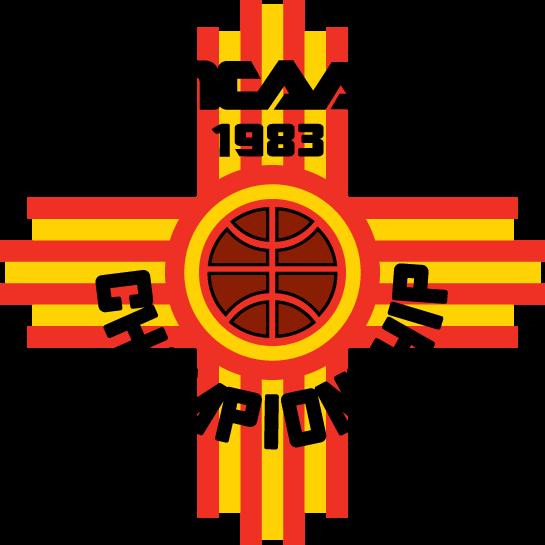 NCAA Mens Final Four Logo Primary Logo (1983) - 1983 NCAA Division I Men's Basketball Championship - held in Albuquerque, New Mexico. - Georgia, NC State, Louisville, Houston SportsLogos.Net