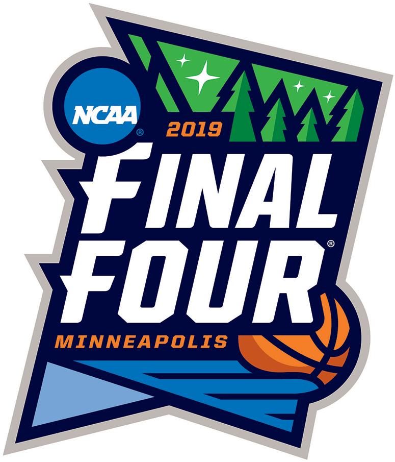 NCAA Mens Final Four Logo Primary Logo (2019) - 2019 NCAA Final Four Logo - Event held in Minneapolis, Minnesota SportsLogos.Net