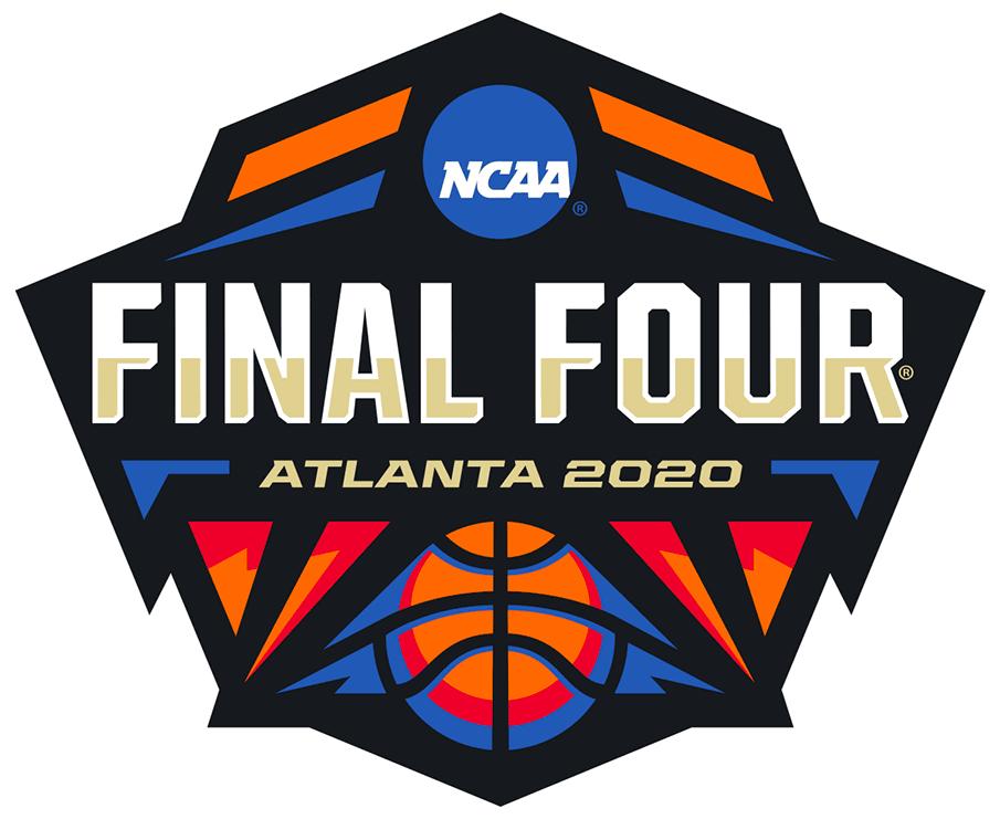 NCAA Mens Final Four Logo Primary Logo (2020) - 2020 NCAA Men's Final Four Logo - Tournament held in Atlanta, GA SportsLogos.Net
