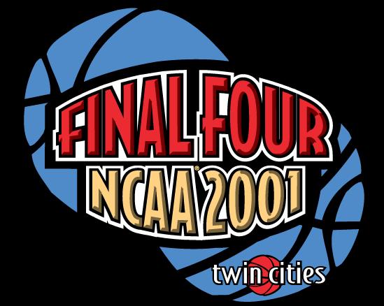 NCAA Mens Final Four Logo Primary Logo (2001) - 2001 NCAA Men's Final Four - Held in Minneapolis, Minnesota. - Duke, Arizona, Maryland, Michigan State  SportsLogos.Net