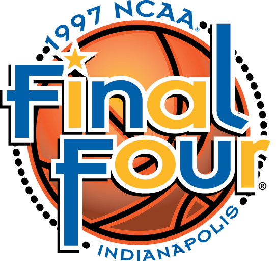 NCAA Mens Final Four Logo Primary Logo (1997) - 1997 NCAA Men's Final Four - held in Indianapolis, Indiana - Arizona, Kentucky, North Carolina, Minnesota SportsLogos.Net