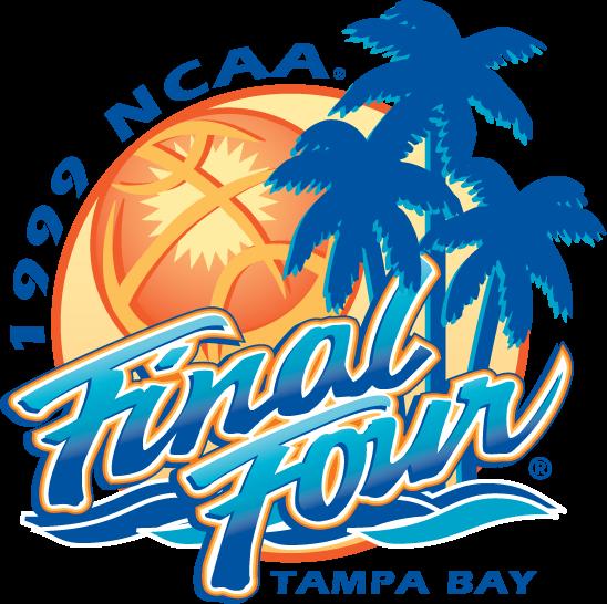 NCAA Mens Final Four Logo Primary Logo (1999) - 1999 NCAA Men's Final Four - held in Tampa Bay, Florida - UConn, Duke, Ohio State, Michigan State SportsLogos.Net