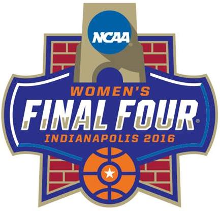 NCAA Womens Final Four Logo Primary Logo (2016) - 2016 NCAA Women's Final Four - Indianapolis, Indiana SportsLogos.Net