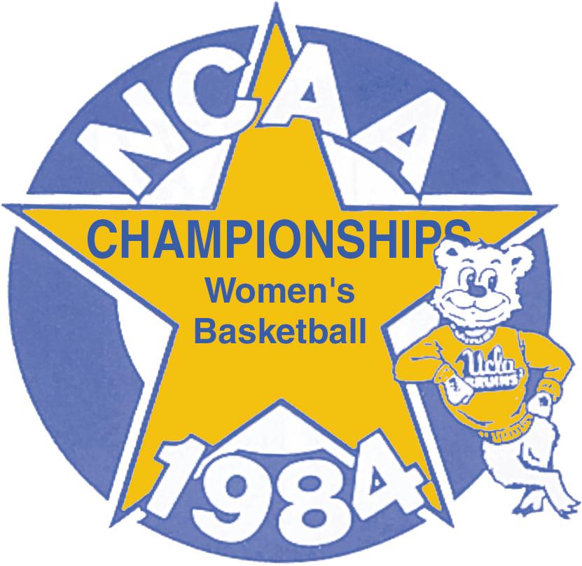 NCAA Womens Final Four Logo Primary Logo (1984) - 1984 NCAA Division I Women's Basketball Championship - held in Los Angeles, California. - Tennessee, Cheyney State, Louisiana Tech, USC SportsLogos.Net