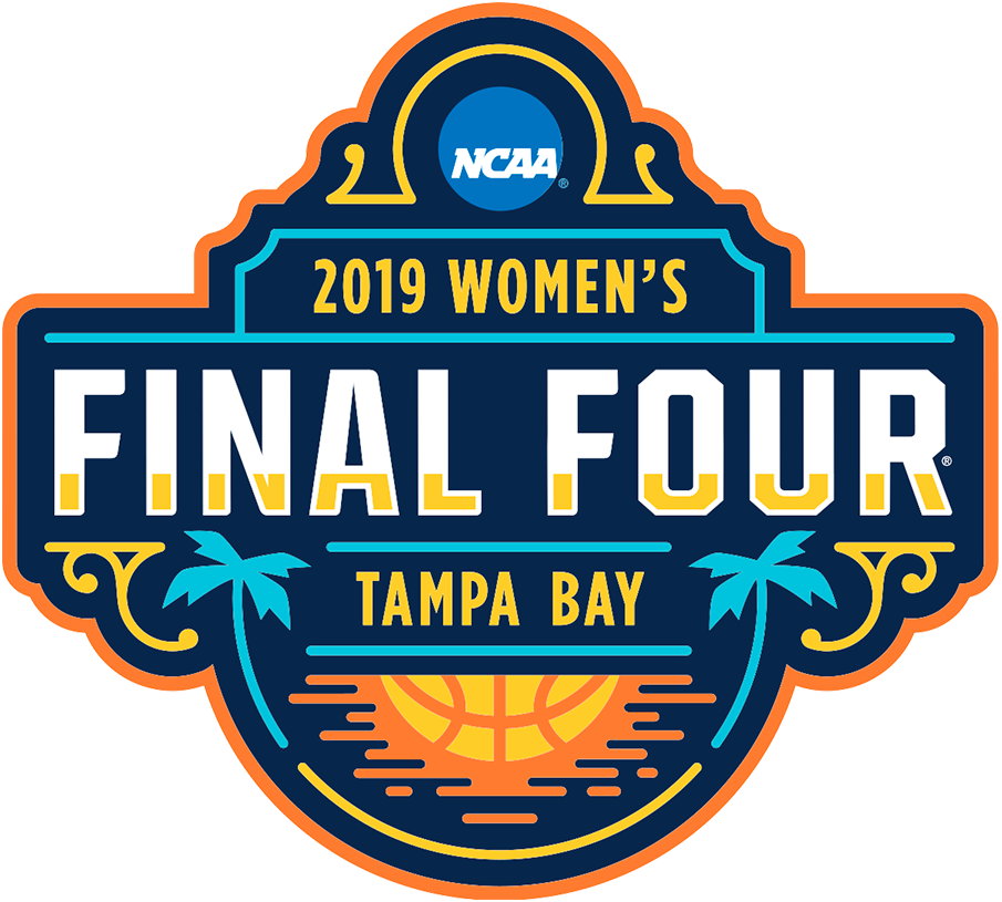 NCAA Womens Final Four Logo Primary Logo (2019) - 2019 NCAA Women's Final Four basketball championship logo - Tampa, Florida SportsLogos.Net