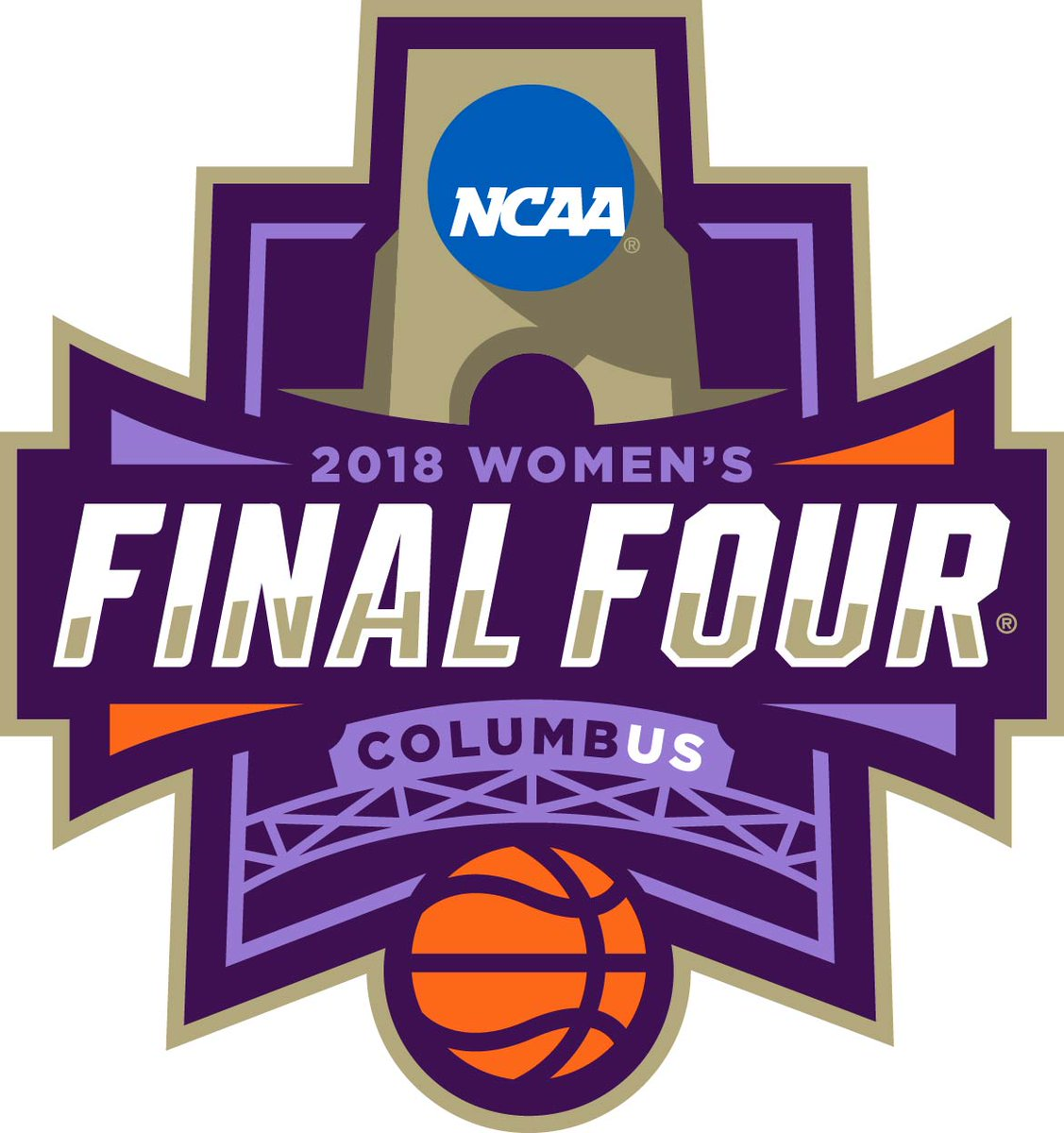 NCAA Womens Final Four Logo Primary Logo (2018) - 2018 Women's Final Four - Columbus, OH SportsLogos.Net