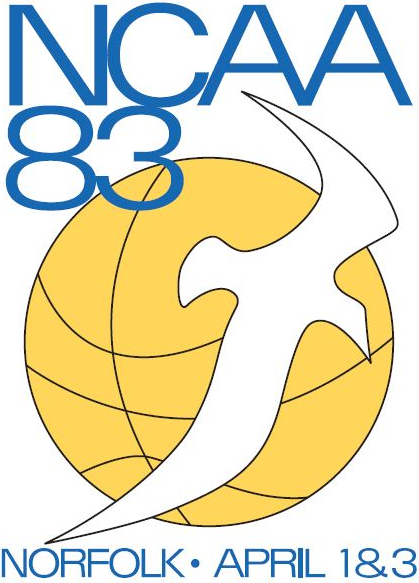 NCAA Womens Final Four Logo Primary Logo (1983) - 1983 NCAA Division I Women's Basketball Championship - held in Norfolk, Virginia. - Old Dominion, Louisiana Tech, Georgia, Southern California SportsLogos.Net