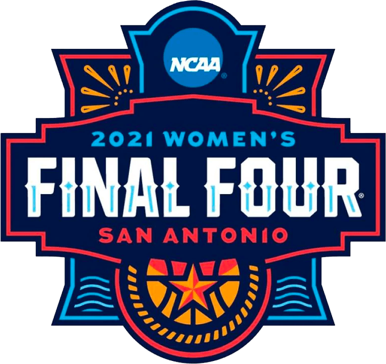 NCAA Womens Final Four Logo Primary Logo (2021) - 2021 NCAA Women's Final Four Logo - played in San Antonio, TX SportsLogos.Net