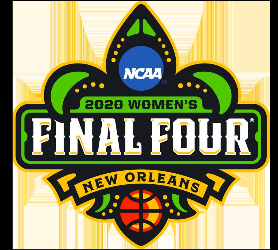 NCAA Womens Final Four Logo Primary Logo (2020) - 2020 NCAA Women's Final Four basketball championship logo - New Orleans, Louisiana  SportsLogos.Net