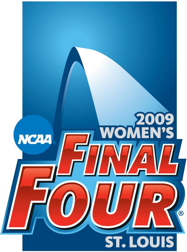 NCAA Womens Final Four Logo Primary Logo (2009) - 2009 NCAA Women's Final Four - held in St. Louis, Missouri. - Connecticut, Stanford, Louisville, Oklahoma SportsLogos.Net