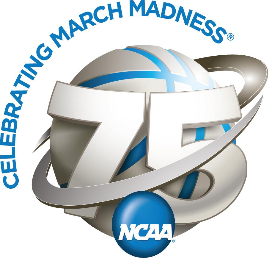 National Collegiate  Athletic Association Logo Anniversary Logo (2013) - NCAA March Madness 75th Anniversary logo SportsLogos.Net