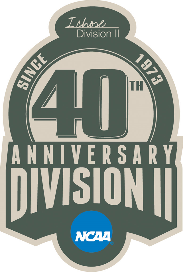 National Collegiate  Athletic Association Logo Anniversary Logo (2013) - NCAA Division II 40th Anniversary logo SportsLogos.Net