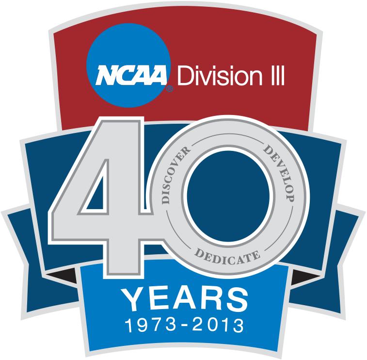 National Collegiate  Athletic Association Logo Anniversary Logo (2013) - NCAA Division III 40th Anniversary logo SportsLogos.Net