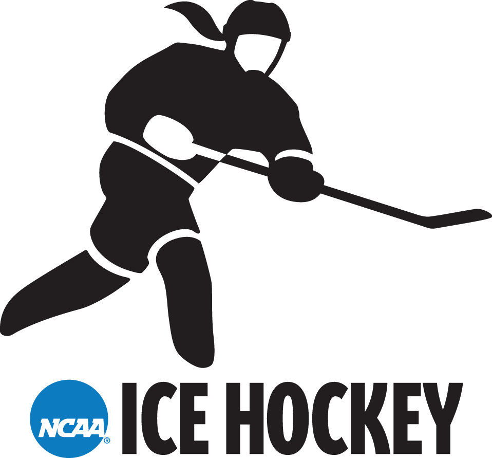 National Collegiate  Athletic Association Logo Misc Logo (2000-2015) - NCAA Woman Hockey player silhouette logo SportsLogos.Net